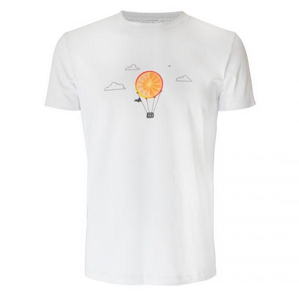 Mongolfiera, Crew Neck T-Shirt